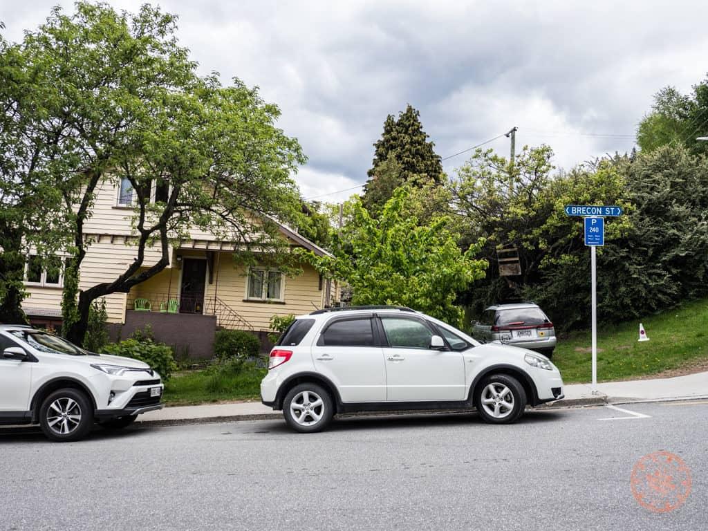 brecon street free parking in queenstown