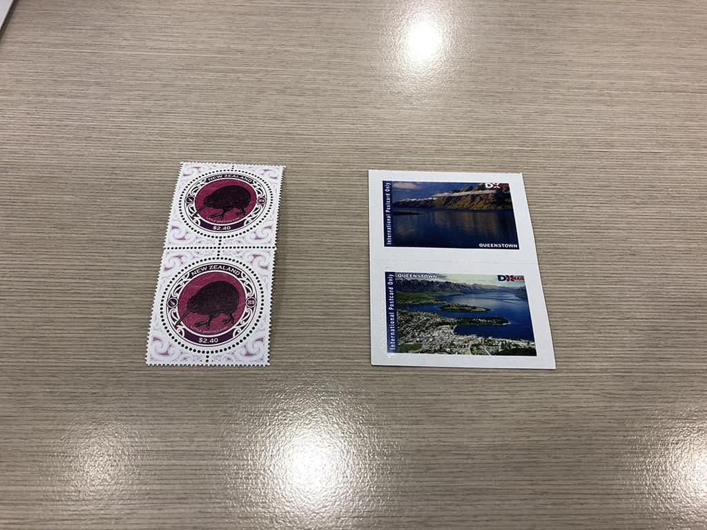 two types of stamps in new zealand