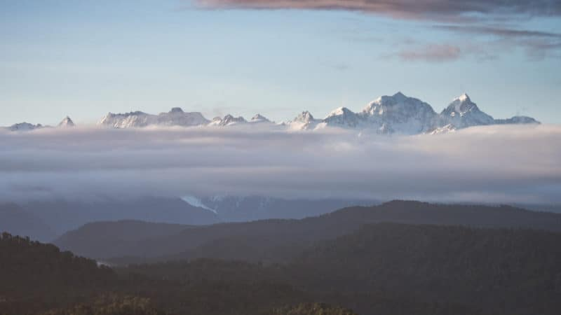 new zealand sunrise with mount cook for new zealand travel guide