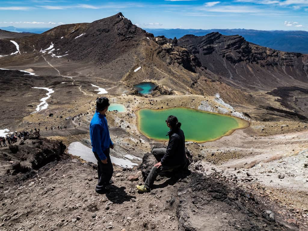 best photo spot for tongariro crossing in nz itinerary