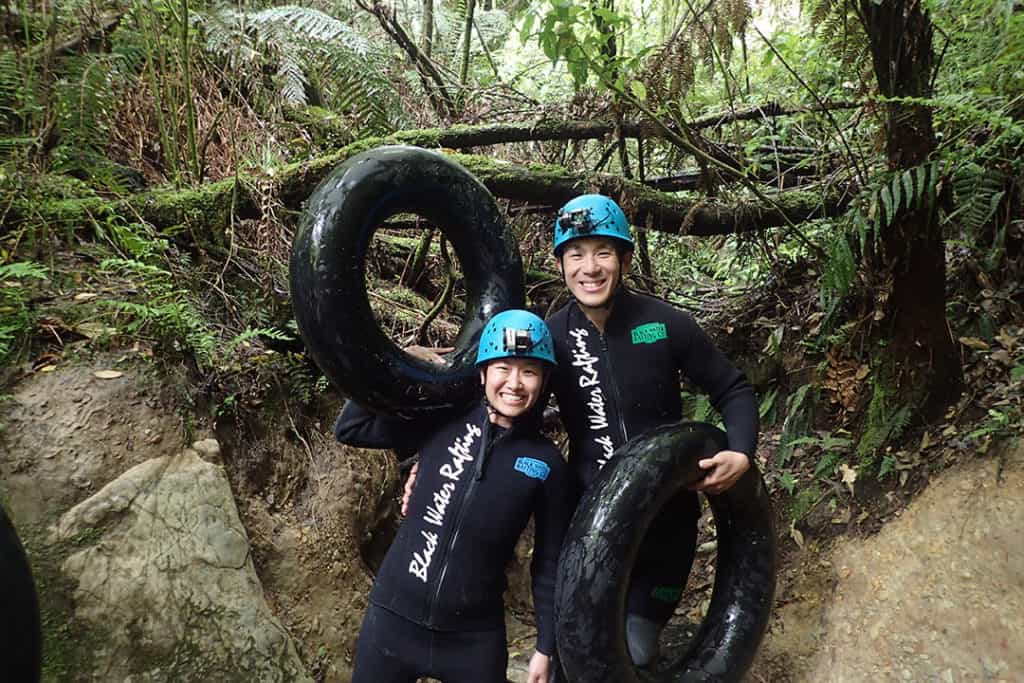 black water rafting one of top things to do in north island of new zealand