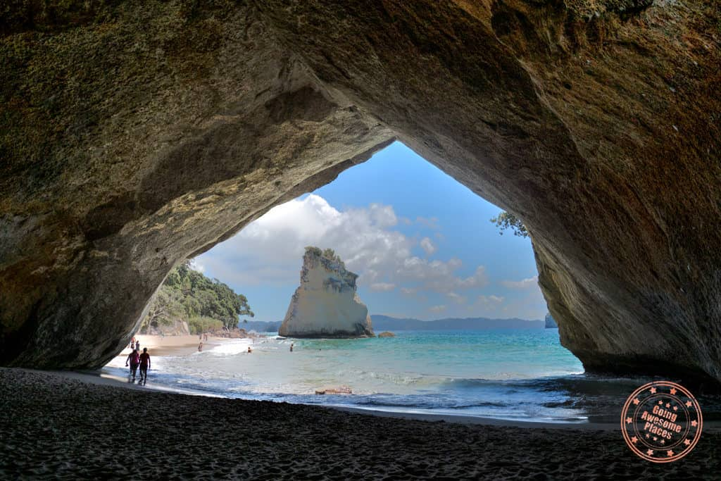 cathedral cove new zealand itinerary