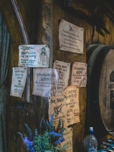 funny signs in green dragon pub easter egg