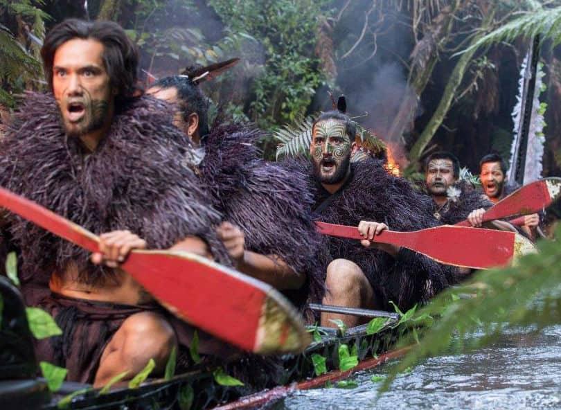 mitai maori village warrior canoe waka