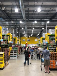 pak'n'save warehouse aisle grocery store