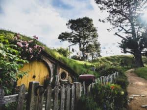 samwise gamgee hobbit hole in film set near matamata