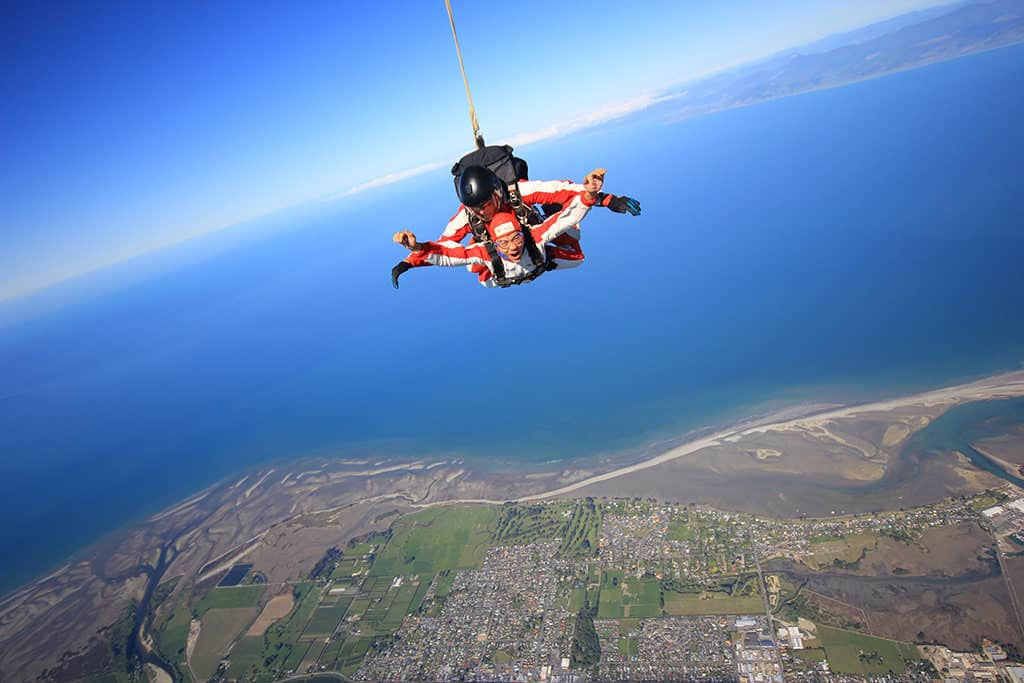 future of going awesome places sky diving new zealand