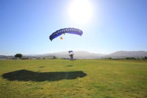smooth landing abel tasman skydiving