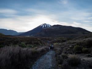 start of tongariro alpine crossing