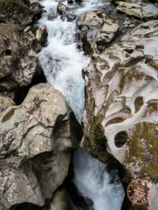 the chasm rushing water new zealand itinerary