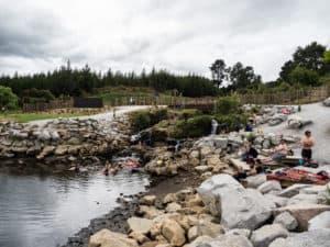 spa thermal park natural hot springs near taupo