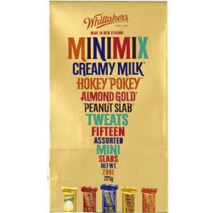 whittakers chocolate minimix package souvenir