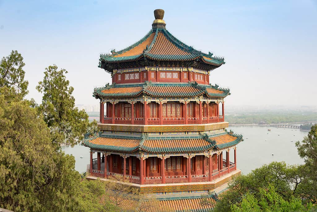 beijing summer palace pagoda things to see
