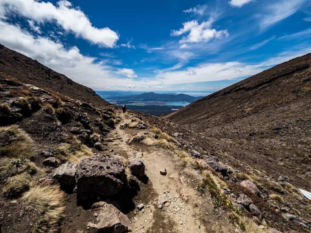 blue lake to ketetahi hut rotopaunga valley tongariro crossing section 7