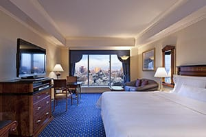 westin tokyo interior room - places to stay