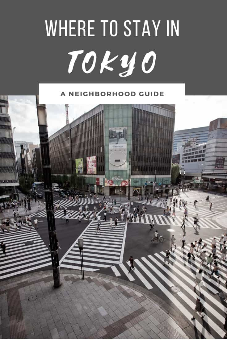 Tokyo is divided into many different neighborhoods, each unique from the other. When planning your trip to this city in Japan, learn where the top place to stay is and which accommodations I recommend for any budget. #tokyo #visittjapan #tokyotokyo