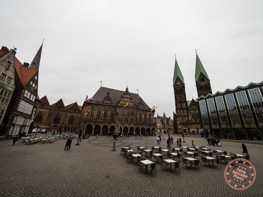 what to do in bremen market square
