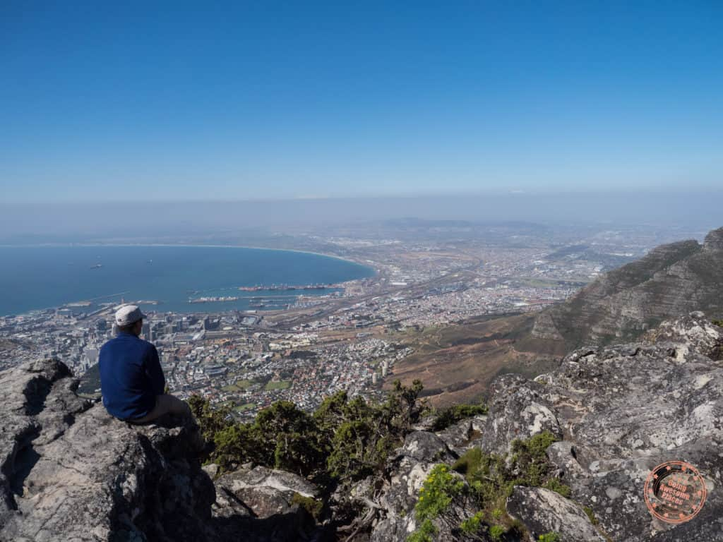 south africa travel tips guide and table mountain lookout into cape town