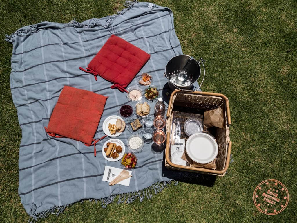 holden manz picnic in franschhoek basket food spread