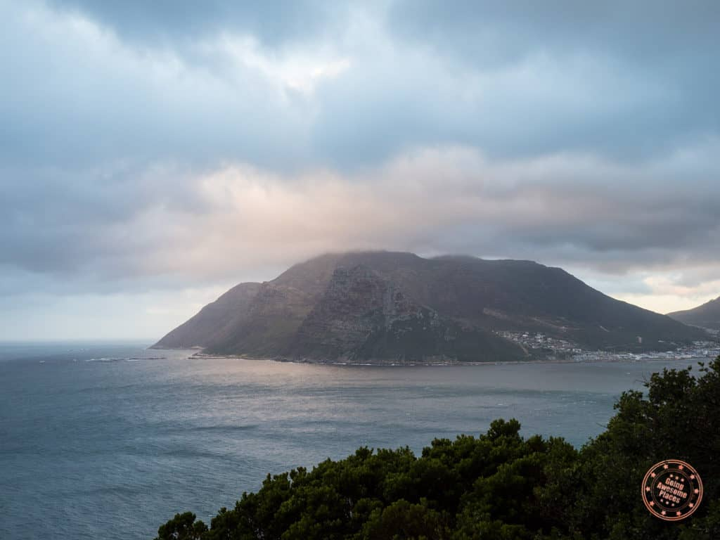 hout bay view from chapmans peak drive