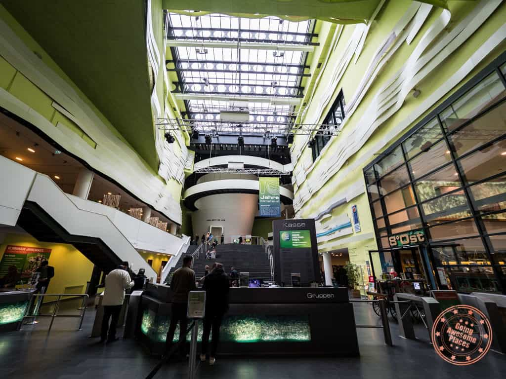 things to do in bremerhaven inside klimahaus climate museum