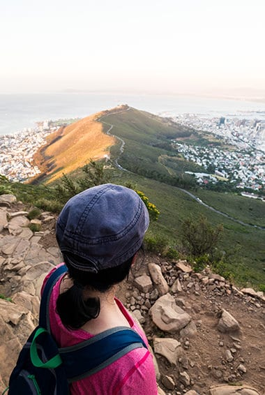 lion's head hiking cape town highlight