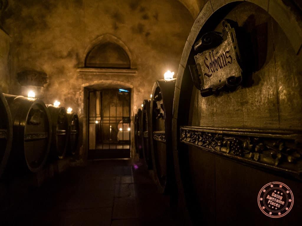 ratskeller apostles wine cellar in bremen germany