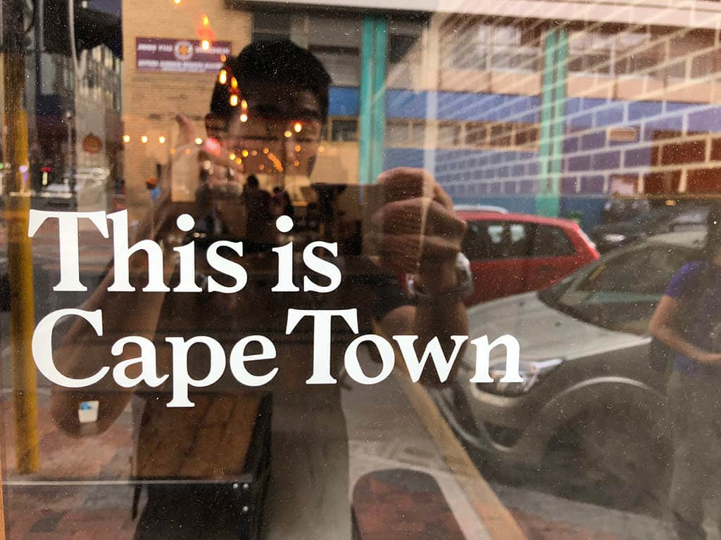 this is cape town sign in itinerary
