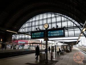 train ride to bremerhaven from bremen