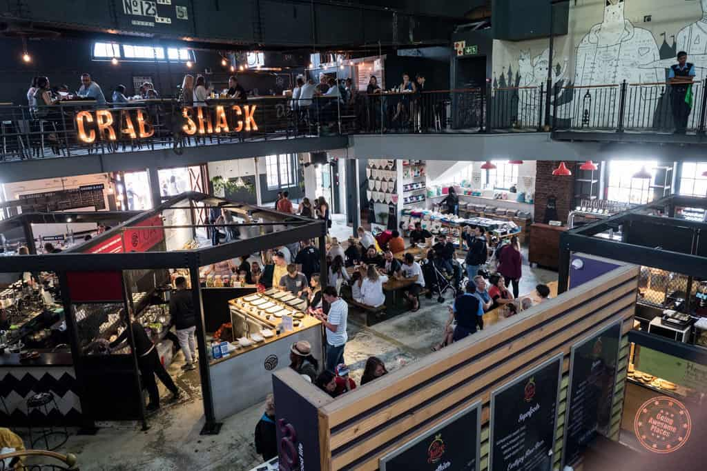 v&a food market food hall where to eat in cape town