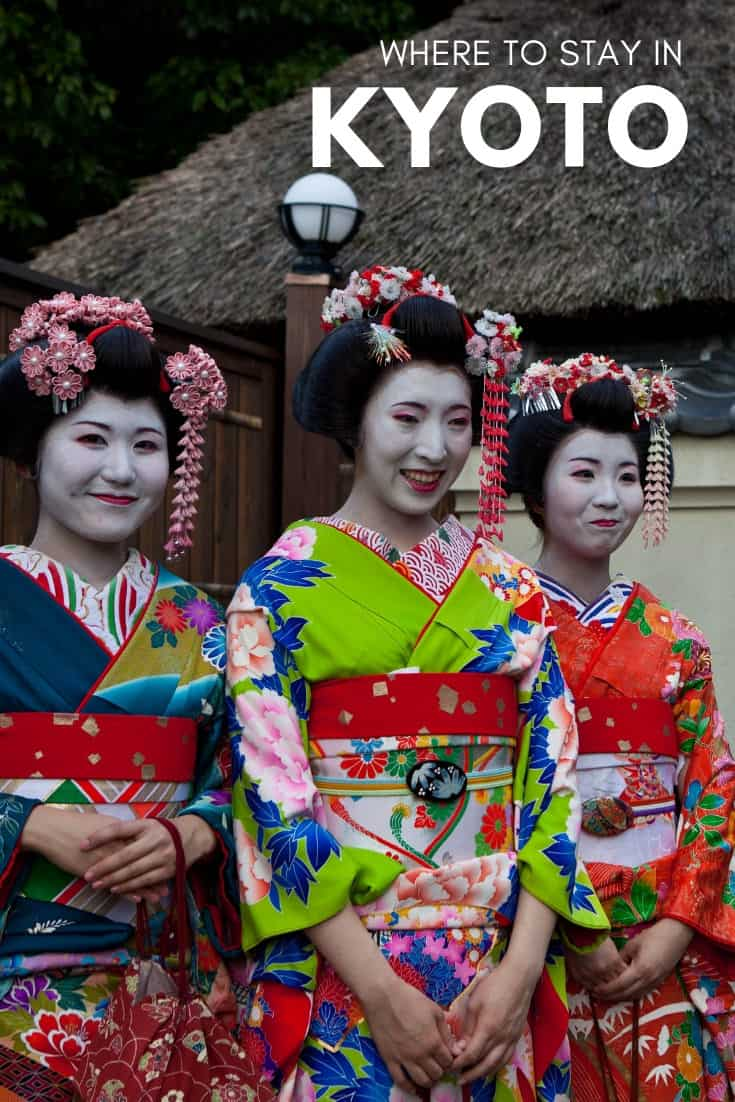 Kyoto is broken into a number of neighbourhoods and despite it being much smaller than Tokyo, it\'s important to understand what you can find in each one and if you were to choose, where is the best place to stay in Kyoto including hotels, ryokans, hostels, apartments, guesthomes, and Airbnbs. #visittjapan #kyoto