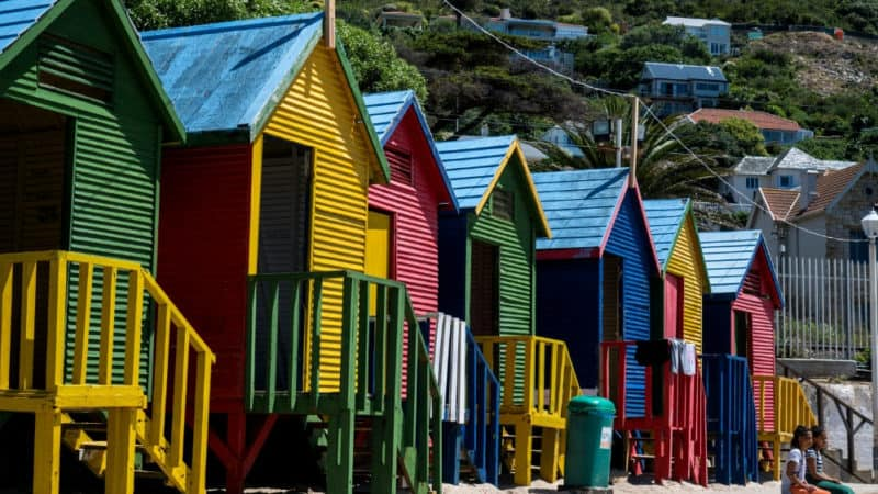 south africa travel guide featured colourful houses