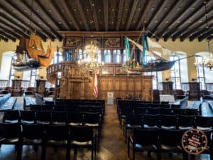 bremen town hall upper hall tour