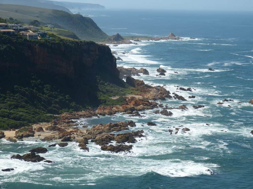 garden route south africa coastal view