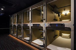 best place to stay near toyosu fish market tokyo ariake bay hotel capsule hotel
