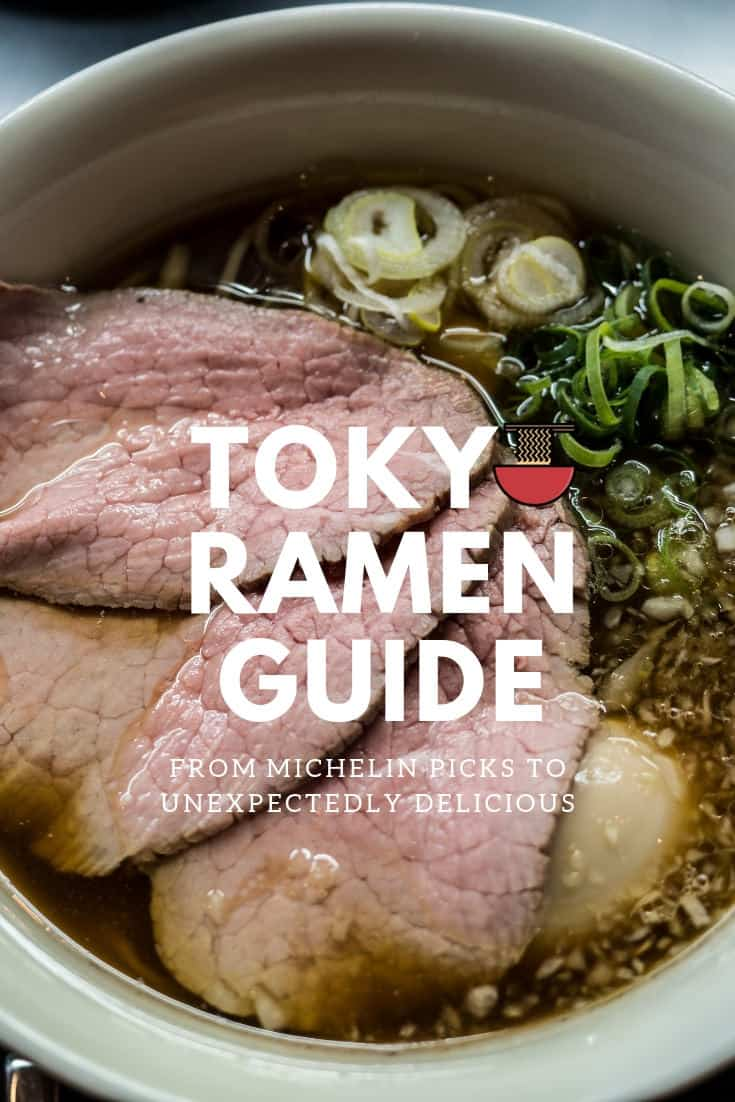 Do you love ramen and are you planning a trip to Tokyo, Japan? Make sure you read this to find out the best ramen in Tokyo from Michelin starred to simply awesome. Here\'s everything you need to know. #ramen #tokyofoodie #tokyo