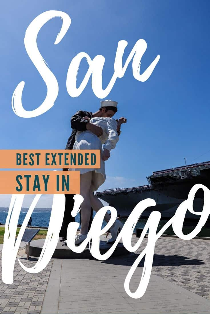 Where you should stay in San Diego if you\'re looking to stay for an extended time. These are 6 Extended Stay America hotels that I recommend. #extendedstay #visitsd #sandiego