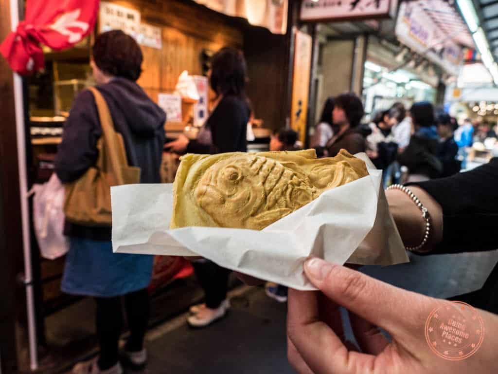 amane taiyaki kichijoji food tour