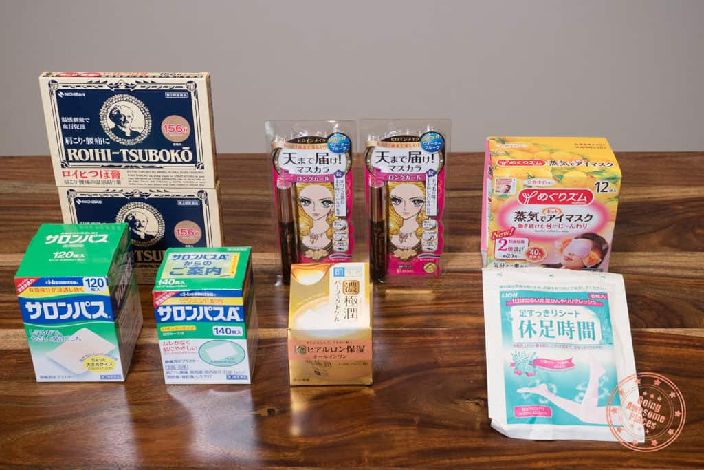 what to buy in japan from don quijote beauty and pharmaceutical