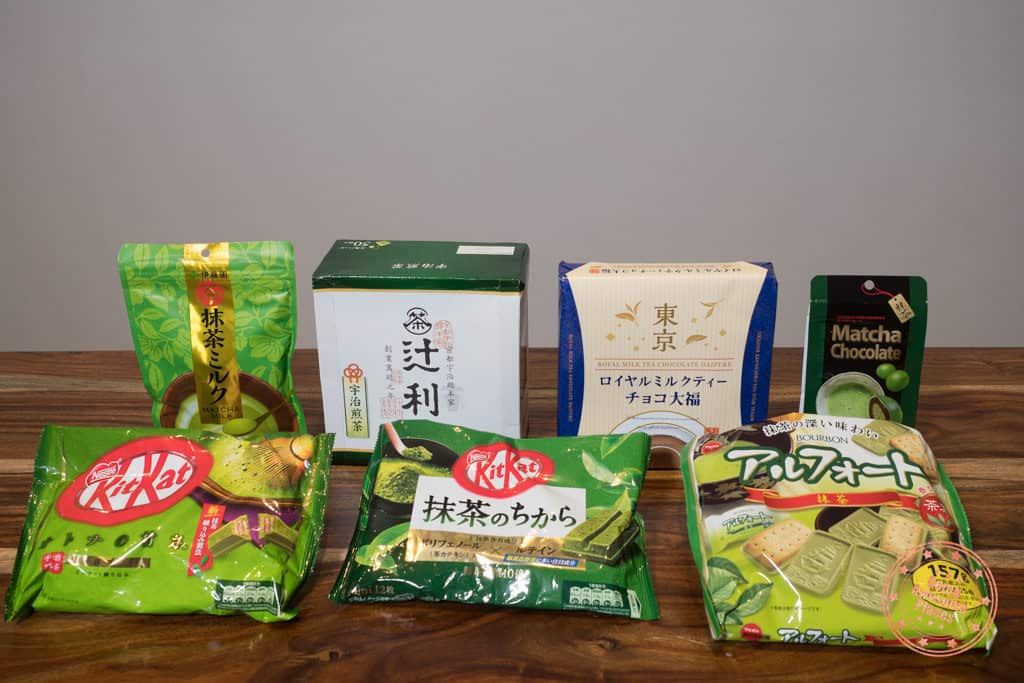 food and snack souvenirs in japan from don quijote