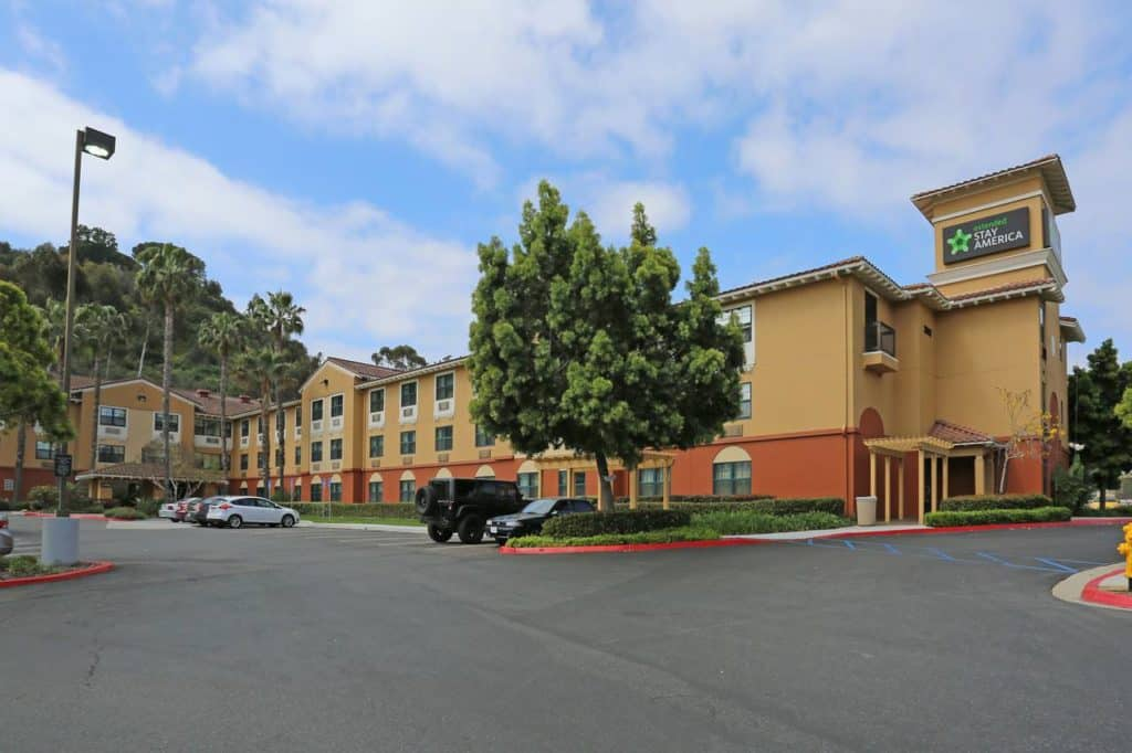 mission valley hotel circle extended stay america