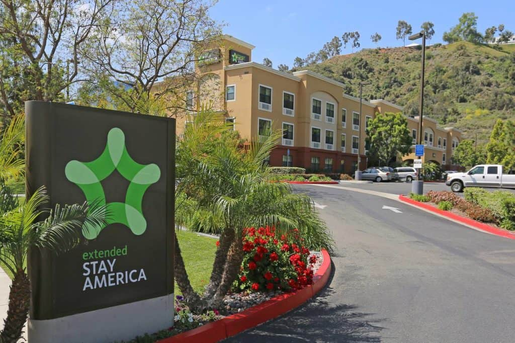 hotel san diego extended stay america mission valley stadium location