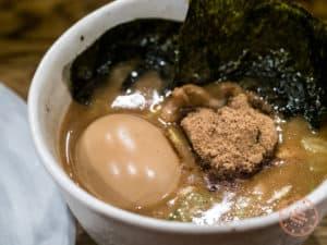 fuunji tsukemen soup bowl