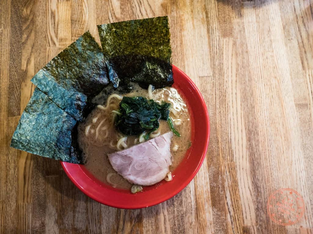 iekei yokohama style ramen at musashiya kichijoji