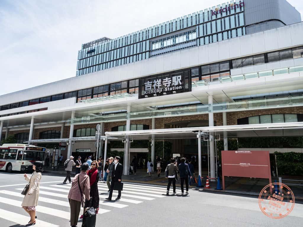 kichijoji jr train station