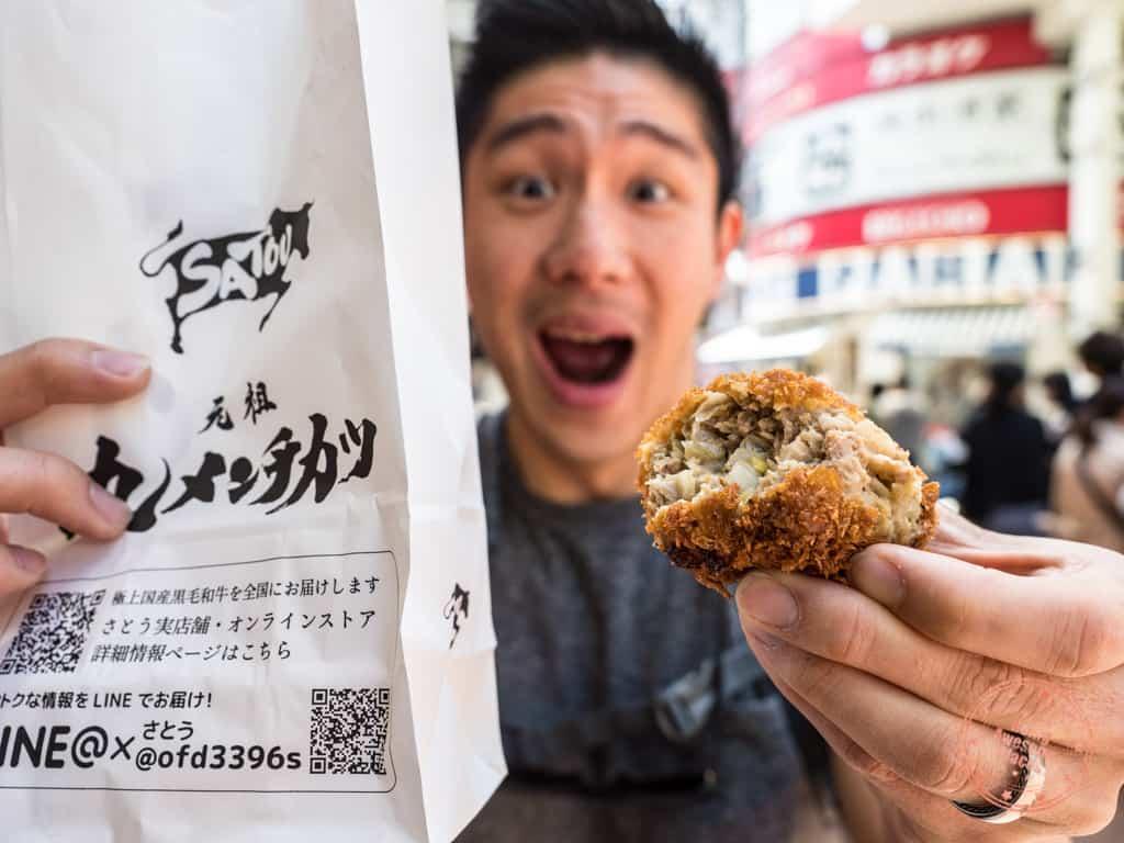 kichijoji food tour tokyo japan street fiid