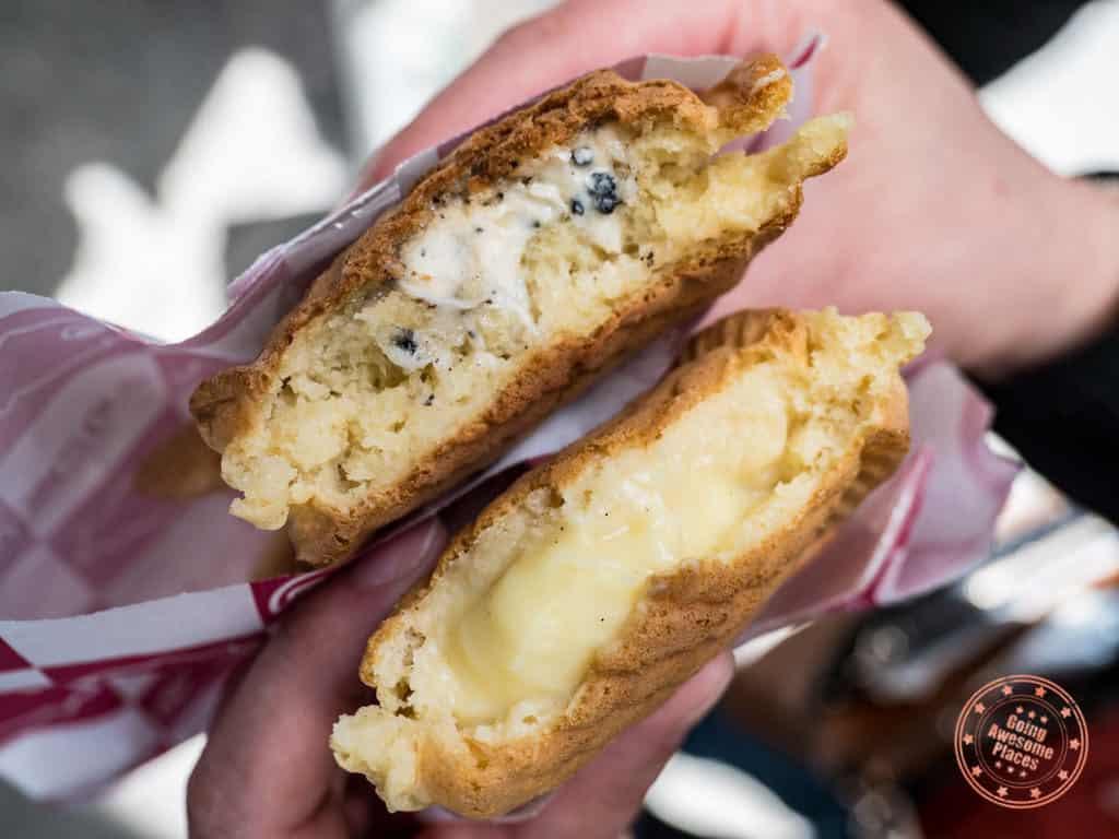 kurikoan taiyaki cookies and cream