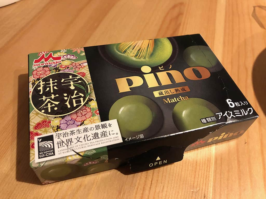 pino ice cream from 7-eleven what to buy in japan