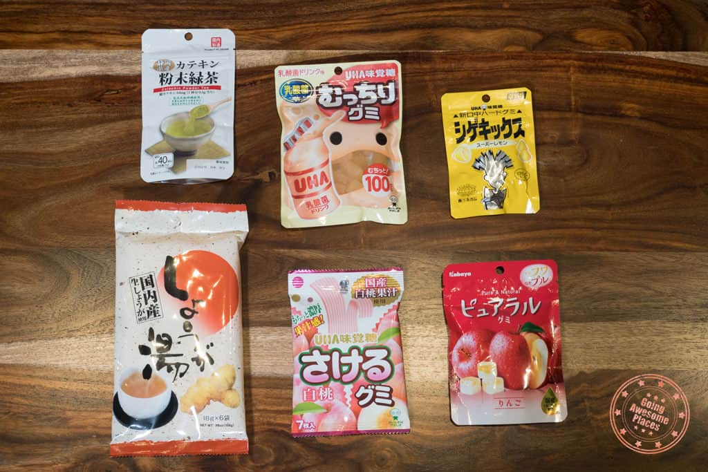 things to buy in japan daiso food items