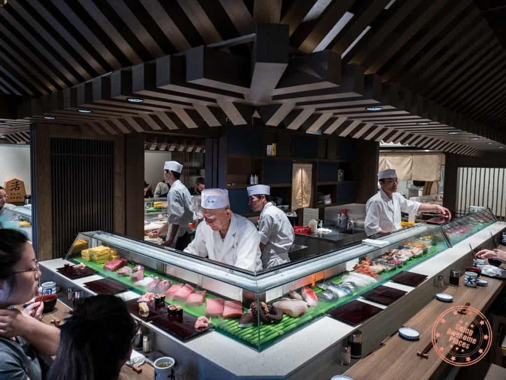 daiwa sushi toyosu market interior